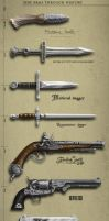 Weapons Through History by Oouah