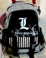 Death Note bag by Lawrielle21