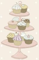 cupcakes by uyuh