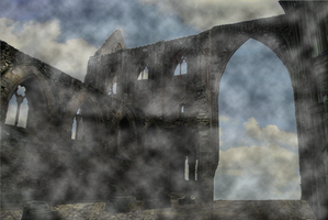 Ruins in the Clouds 001 by JoeyD473