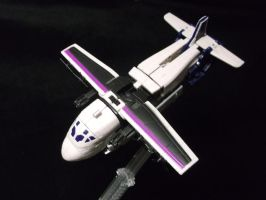 Octane the triple changer, cargo plane mode by forever-at-peace