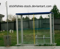 Bus Stop 1 by Stickfishies-Stock