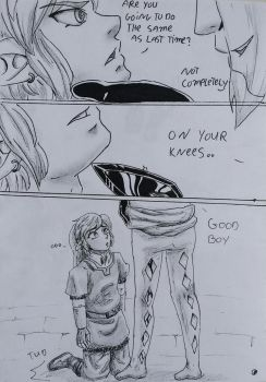 Ghirahim x Link 2 The Fire Sanctuary page 4 by heey1888