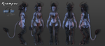 Krampus Character Sheet Marmoset by grico316