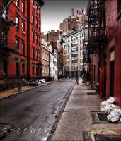 Waverly Place and Gay Street by steeber