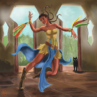 The Dancer by Crowsrock
