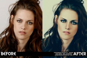 Kristen Before and Afetr by MorePoison