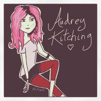 Audrey Kitchtoon. by Helen--127
