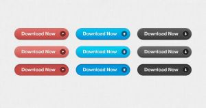Free PSD - Download Buttons by ormanclark