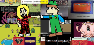 Awesome Earthbounders! by TheAmazingNSixtyfour