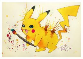 PikARTchu by PixieCold