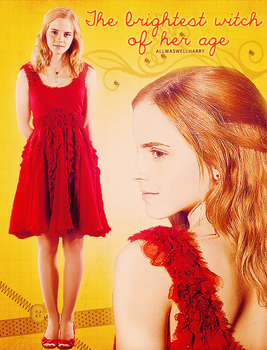 Hermione Granger, the brightest witch of her age by allwaswellharry
