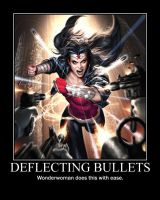 Wonderwoman dodging bullets by TopcowImage2dF