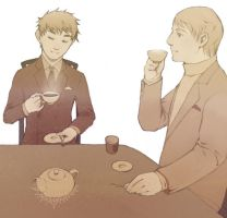 APH - Tea and Jam by freefallcrash