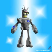 Bender: Mighty Merchandise Robot by 2ble-ZZ