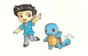 Dancing with a Squirtle by XaioLoon