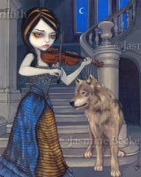 Wolf Song by jasminetoad
