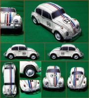 VW Herbie Papercraft by Mironius