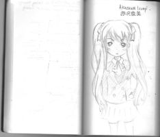 Notebook Doodles ~ ANOTHER by Aninsey