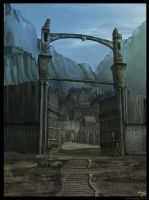 Viking village by gregmks