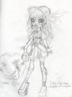 MH OC Dolly Marionne proceso by miyukiZETA