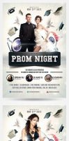 Graduation Prom Flyer by saltshaker911