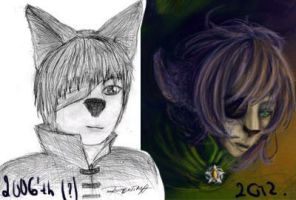 Through the years: Ritiard by WolfsNeverDie