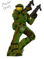 Halo Master Chief completed by TheInnerBeauty