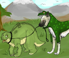 when dinosaurs lived by Kalipts