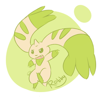 Terriermon - Rebby by KumorihiTsuki