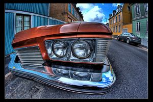 Old car HDR by Ciscofighter