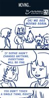 Moving in danger - Howl's moving castle comic (3) by MaruExposito