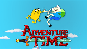 Adventure Time High Five Wallpaper by G-SLAT