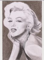 Marilyn Monroe by kimpp64