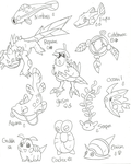 Fakemon44 by Kurigaru