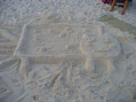 Sand Nyan cat by Ayanami-The-Nuff