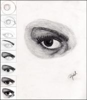 .how I draw eye by Nyae