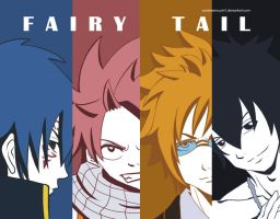 Fairy Tail Boys by sora-jimonitos