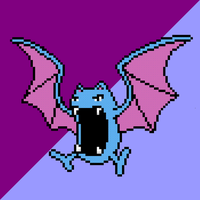 042 Golbat by jokernaiper