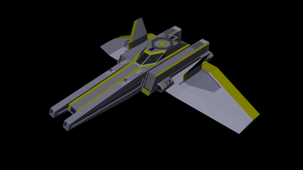AC-1 Auxiliary fighter by Arvex