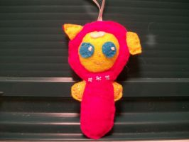 Fluttershy Baby Handsewn Pony Ornament2 by grandmoonma