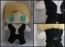 Mentalist: Patrick Jane Plush by StitchedAlchemy