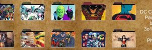 DC Comics Folder Pack 4 by 3o1415