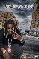 t-pain by diamondgfx