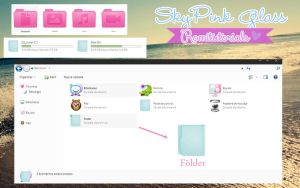 Theme IconPackager, SkyPink Glass :3 by Romitutorials