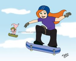Kim Possible: Flying High by Purplefire40