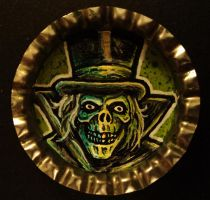 Hat Box Ghost Bottle Cap Monster by Mr-Mordacious