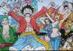 Straw Hat Pirates (finished) by jackom31