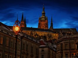 Prague Castle by pingallery