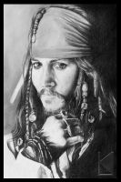 Captain Jack Sparrow, savvy by Enola1